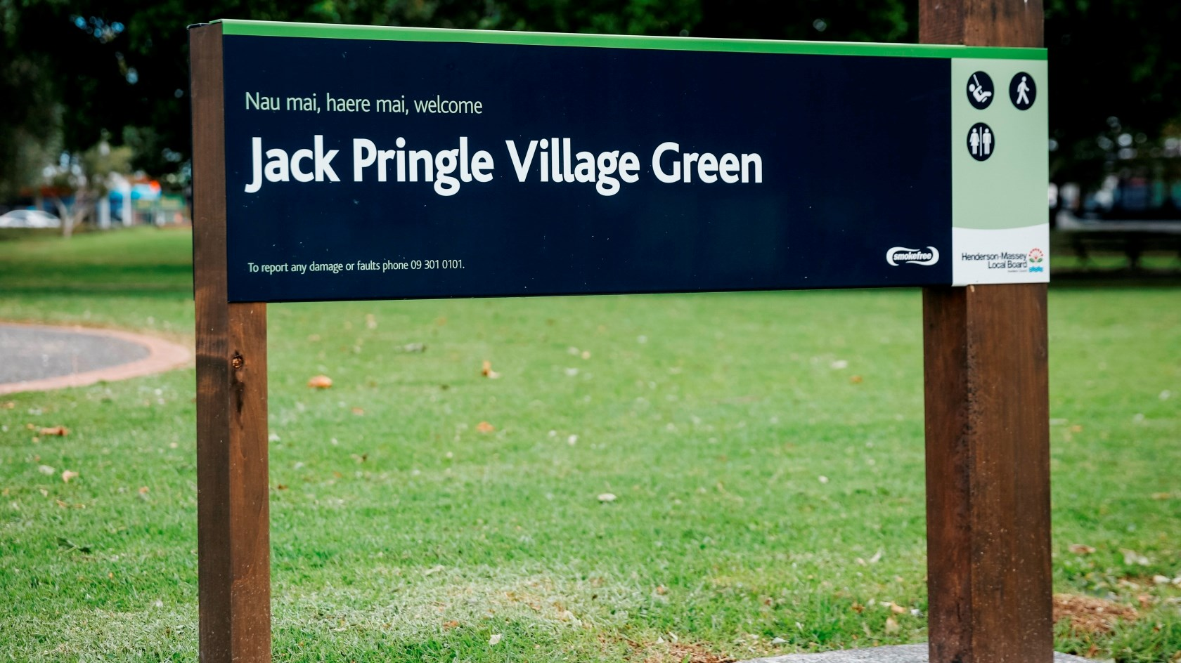 Jack Pringle Village Green blade sign